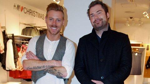 STYLING: Runar Lauritzen var strålende fornøyd etter å ha blitt stylet av Espen Hilton.