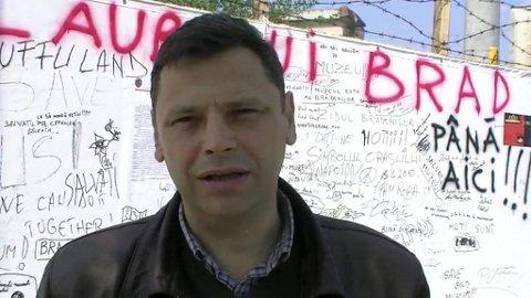 Ordfører i den rumenske byen Brad.