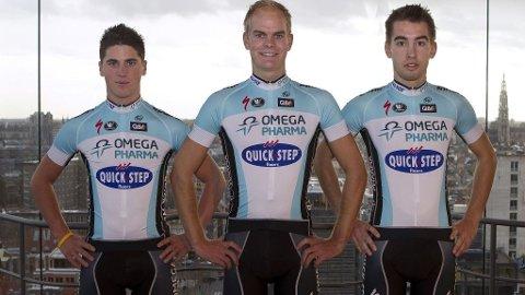 De nye draktene til Omega Pharma Quick Step.