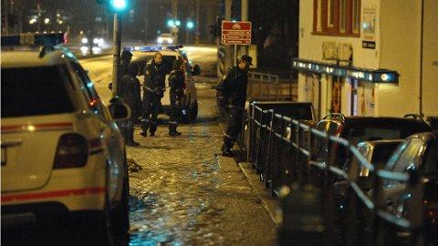 Politiet aksjonerte mot leiligheten mannen oppholdt seg i.