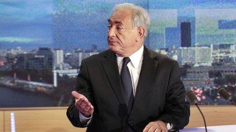 SNAKKET UT: Dominique Strauss-Kahn snakket søndag kveld ut om overgrepsanklagene.