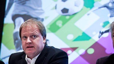 Fotballpresident Yngve Hallén