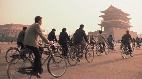 Beijing er en av verdens mest forurensede byer, selv om mange sykler.