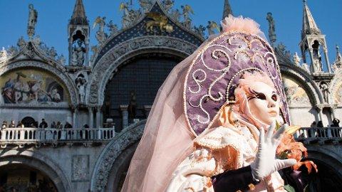 Venezias maskeradeball er eksotisk og veldig vakkert.