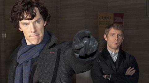 Benedict Cumberbatch og Martin Freeman i en av de mest innovative spenningsdramaene fra BBC på lang tid.
