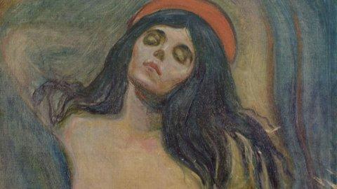 LETT GJENKJENNELIG: Munchs' Madonna er et av verdens mest berømte verker.