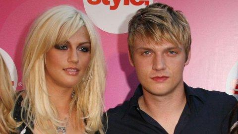 SORG: Leslie og Nick i 2006. 25-åringen døde tirsdag.