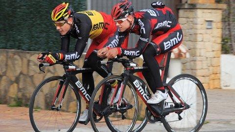 Philippe Gilbert og Klaas Lodewyck