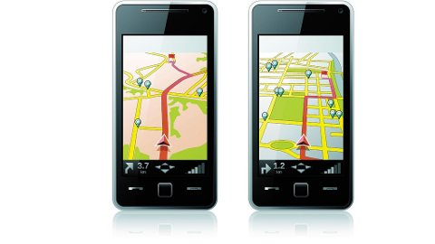 Smarttelefonen guider deg til nærmeste severdighet eller restaurant for den saks skyld.