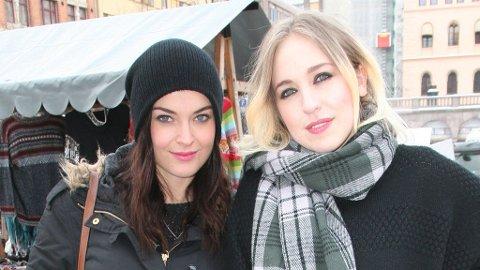 SAMMEN: Charlotte og Margaret har samarbeidet - og skal opptre på Bylarm.