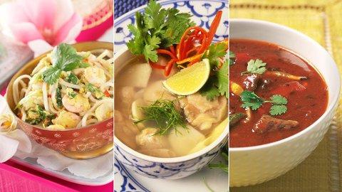 Thailand har et kjøkken fylt av deilige fristelser, som det er enkelt å diske opp med også her i Norge.