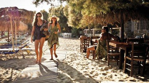 Paraga-stranda er ikke stror, men et trivelig sted å tilbringe ettermiddagen.