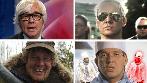 KJEDELIG: Valens mange karakterer gjør ikke lørdagskvelden hos NRK bedre.