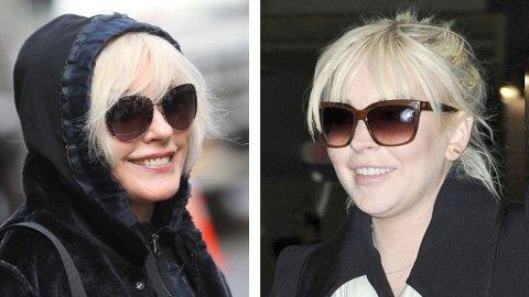 OPS: Debbie til venstre, Lindsay til høyre.