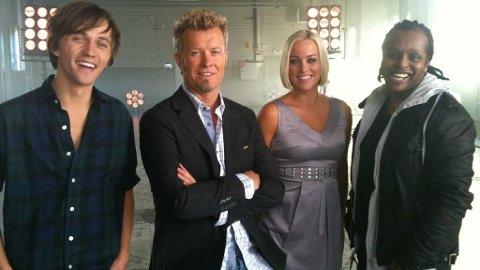 The Voice: Magne Furuholmen, Hanne Sørvaag, Yosef Wolde-Mariam og Sondre Lerche.