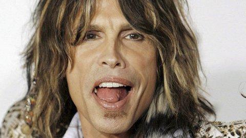 GIR TIPS: Aerosmith-frontmann (61) har både lowlights og highligts i håret, blekede tenner og porefri, perfekt hud, og har dermed all nødvendig tyngde for å gi datteren skjønnhetstips.