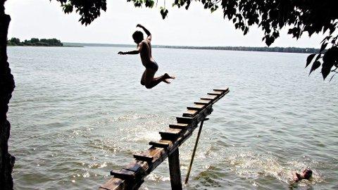 Denne innsjøen ved byen Goritsy skal være selve ungdomskilden.