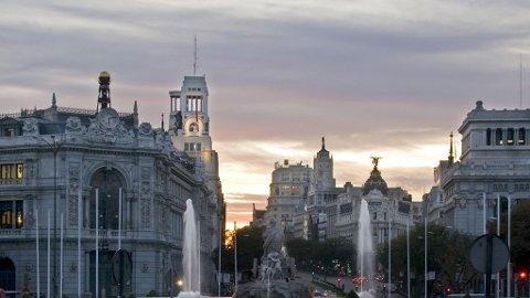 Gran Via er Madrids mest berømte gate.