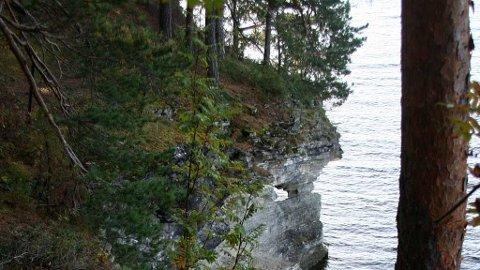 Skrenten på Utøya