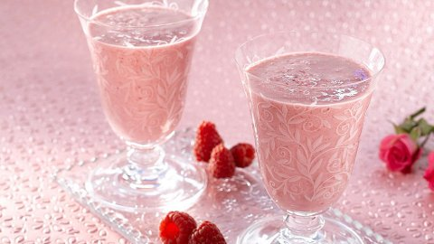 EN SMOOTHIE, hvor sukker er byttet ut mot proteinpulver, er en god erstatning for iskrem.