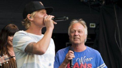SAMMEN: Hver gang vi møtes-gjengen, ved Vinni og Øystein Dølmen, på NW-scenen torsdag.