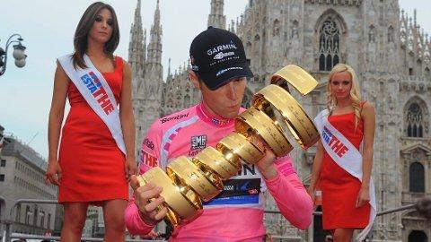 KOMMER TILBAKE: Ryder Hesjedal sier han vil forsvare Giro d'Italia-tittelen sin fra i fjor.