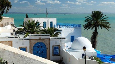Du kan få følelsen av å være i Hellas, men den sjarmerende byen Sidi Bou Said er umiskjennelig arabisk.