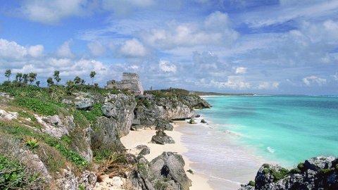 Historiiske ruiner, litt dommedag og strandliv går hånd i hånd på Yucatánhalvøya.