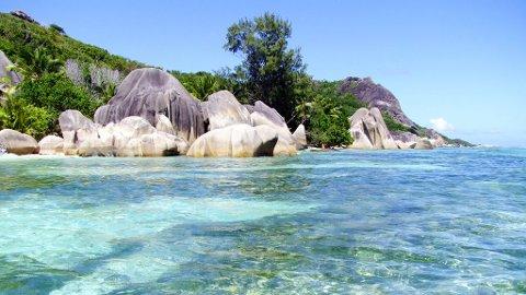Seychellene har verdens vakreste strender.