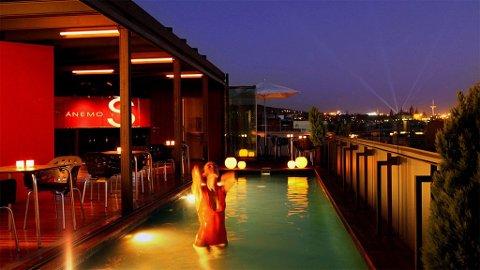 Hotel Cram har en av Europas beste takterrasser mener vi.