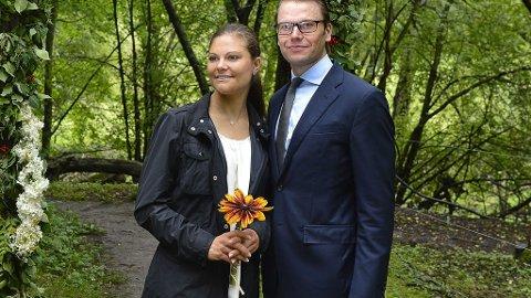 DET SVENSKE KRONPRINSPARET, Victoria og Daniel har fått en «kjærlighetssti» oppkalt etter seg selv i parken Djurgåden i Stockholm.