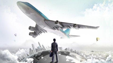 Ikke bli stående igjen på rullebanen. Gjør noe med flyskrekken.