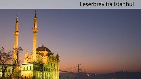 Monica Døvle forteller fra sin tur til Istanbul.