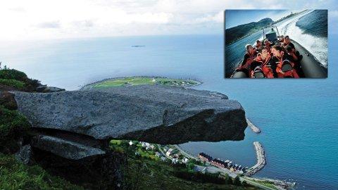 Våg deg ut på steinen Johan Skytt eller ta en rib-tur ut i havgapet. Bare to av mange aktiviteter du kan glede deg over i Sunnmøre.