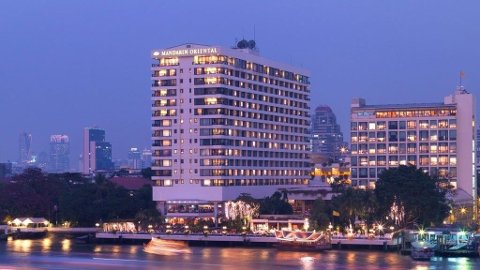 Mandarin Oriental Bangkok.