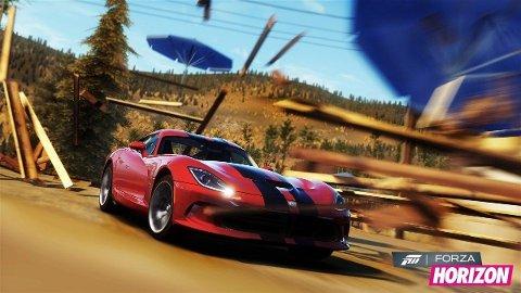 Forza Horizon lar deg herje som du vil.