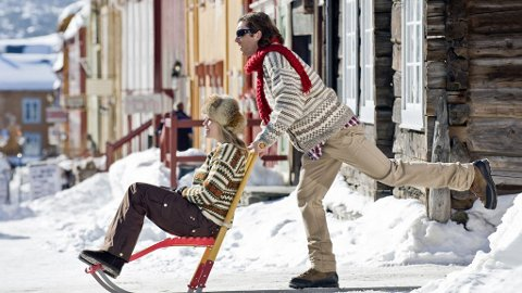 Ta med en du er glad i til Røros i vinter.