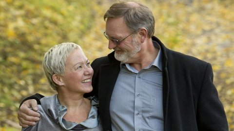 FANT HVERANDRE: Odd Arild og Gerda er blitt kjærester.