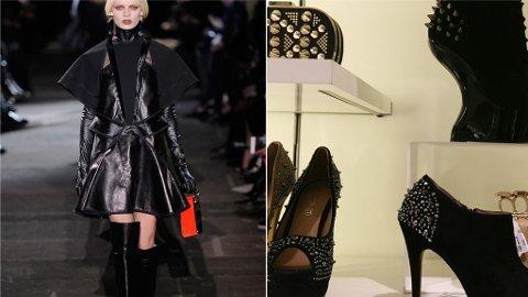 NAGLER, studs lakk, lær og lårhøye støvletter er blant sesongens store trender innene sko.