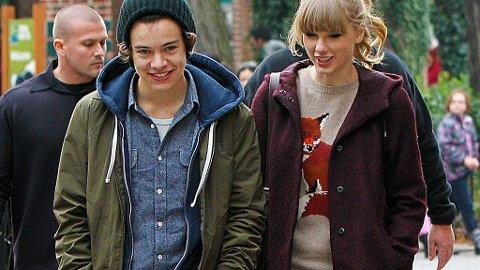 PÅ DATE: Harry Styles og Taylor Swift.