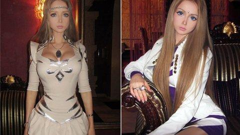 LEVENDE BARIE: Bildene av russiske Valeria Lukyanova går som en farsott i internettverdenen.