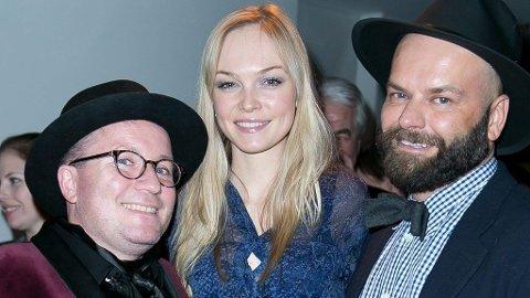 SIRI TOLLERØD, her sammen med Per Sundned og John André Hanøy under OFW, er aktuell som programleder for den neste sesongen av Top Model.