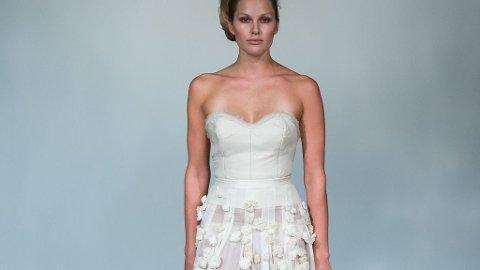 MARIA SKAPPEL avsluttet Leila Hafzi-showet i denne drømmen av en kjole - den samme som hun selv giftet seg i.