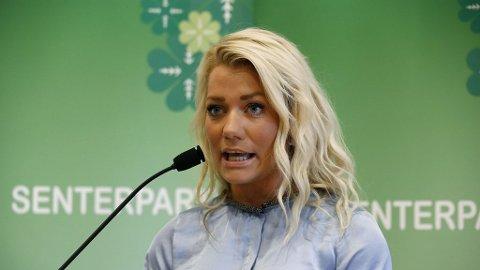 LATTERLIGGJORT: Twitter-kritikken har haglet etter at leder i Senterungdommen Sandra Borch brukte sitt eget mobiltyveri som argument for å stenge grensene i Norge.