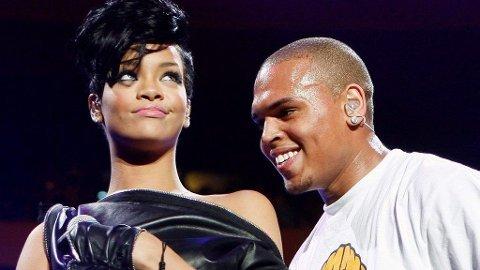 SLUTT: Rihanna og Chris Brown skal ha gått hver til sitt.
