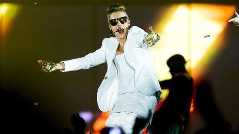 TRE KVELDER: Justin har vært i Norge tre kvelder, men har knapt vist seg utenom på scenen i Telenor Arena.