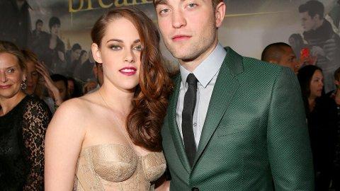 SAMMEN IGJEN: Kristen Stewart og Robert Pattinson.