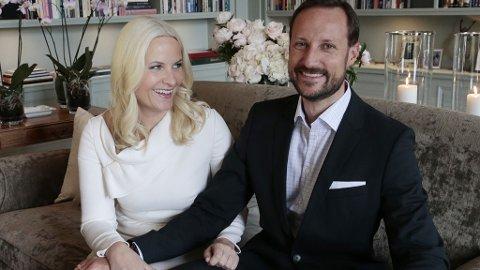 FEIRER 40 ÅR: Kronprinsessen og barna har invitert til overraskelsesselskap i form av en festival på Skaugum i anledning kronprins Haakons 40-års dag.