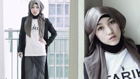 HANA TAJIMA er det som av mange kalles en hijabista; en moteblogger med hijab.