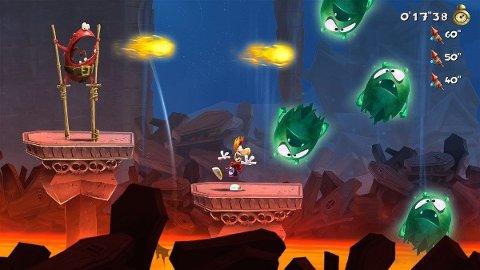 Ja, Rayman Legends ser så pent ut.